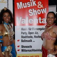 feurige Samba-Show Latino